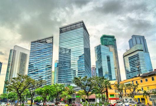 Skyscrapers at Bonifacio Global City - Manila, Philippines
