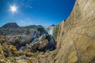 Wodospad Tama Hiszpania Costa Blanca Alicante
