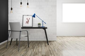 writing desk interior designer room