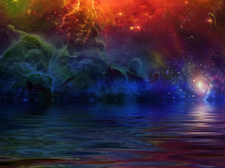 Fototapete - Surreal Sea