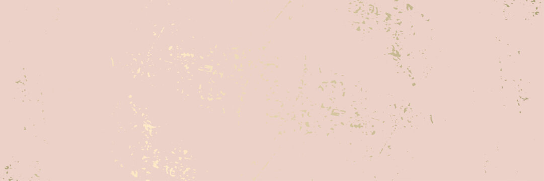 Trendy chic banner design Worn Marble Gold and Pastel advertising background.