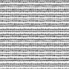 Seamless geometric pattern with linear semicircles. Vector doodle geometric texture.