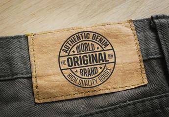 Vintage Style Logo Layout