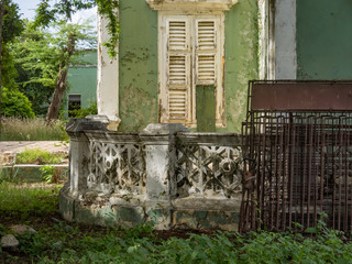 The old huses of Scharloo  Views around the small Caribbean Island of Curacao