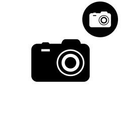 camera  - white vector icon