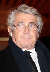 Actor Michel Boujenah arrives for the 34th annual dinner of the CRIF in Paris
