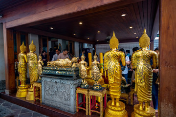 Wat Pho Buddhist Temple in Bangkok, Thailand