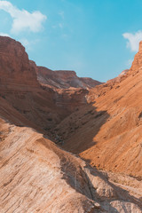 Amazing Landscape of Masada, Israel