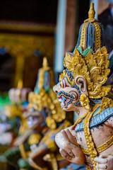 Foto op Plexiglas Indonesië Statues at the Gunung Kawi Sebatu Temple, Ubud, Bali, Indonesia