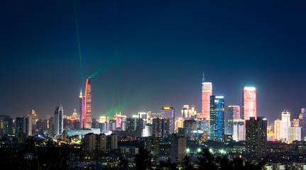 Shenzhen CBD skyline