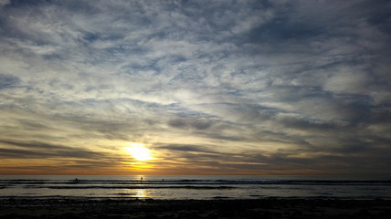 Beach Sunset Cardiff California - JSE Photo ©2019J.StuartEdmondson