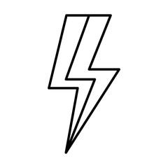 cute ray thunder icon