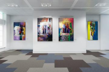 Gemäldegalerie - 3d Visualisierung