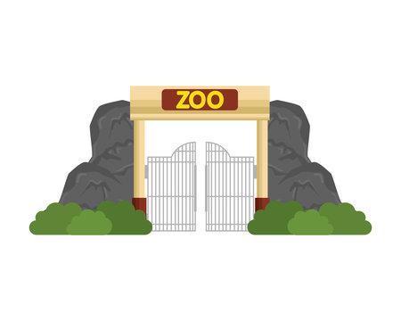 entrance facade of zoo