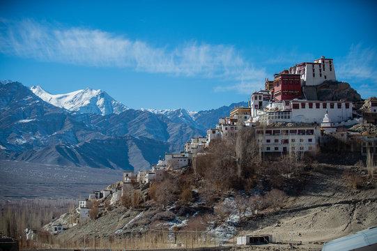 Thiksey Monastery, Thikse Gompa - Leh Ladakh , Thiksey Monastery Leh Ladakh - Popular Place to See in Leh-Ladakh India.