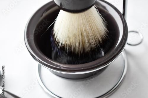 Shaving kit, shaving machine and foam brush  Shaving items  To shave