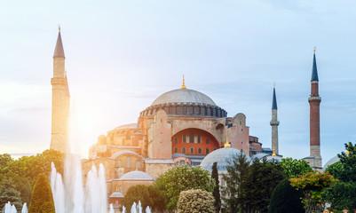 Basilica of the Hagia Sophia Church Holy Wisdom Istanbul