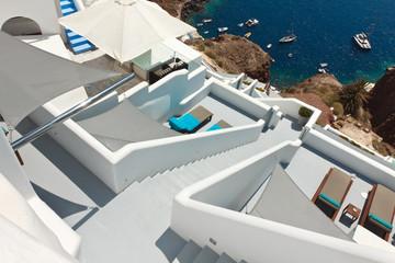 Oia, Santorin en Grèce