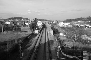 Comboio, apeadeiro