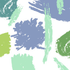 Abstract blue and green splash  background - Vector