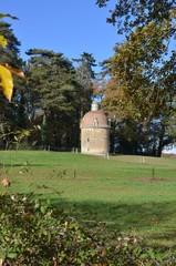 Dovecote castle. Pigeonnier du chateau de la Gascherie, Nantes