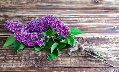 lilac bouquet rope Board