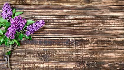 lilac branches horizontal Wallpaper