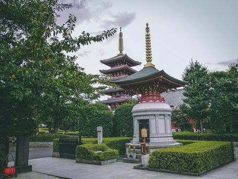 Senso-Ji Tempel, Asakusa Tokyo, Japan