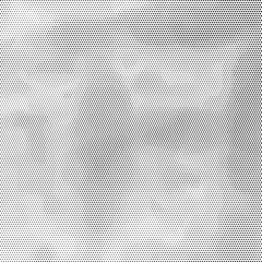 Black halftone stained background