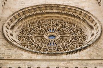 Rosone della Cattedrale di Santa Maria a Palma di Maiorca