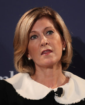 Mary Callahan Erdoes, Chief Executive Officer of J.P. Morgan Asset & Wealth Management, speaks at the Bloomberg Global Business forum in New York