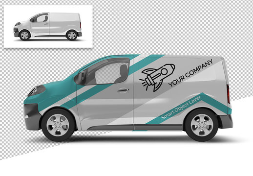 Side of Van Mockup