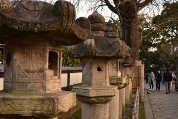 上野 五重塔 弁天堂