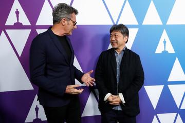 "Nominees Pawel Pawlikowski, director of film ""Cold War"" - Poland and Hirokazu Kore-eda, director of film ""Shoplifters"" - Japan attend a pre Oscar reception"