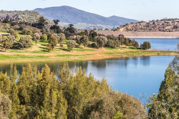 Glenbawn Dam, Upper Hunter, NSW, Australia is a popular inland sport and recreation destination near Scone.