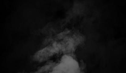 Garden Poster Smoke Smoke texture overlays on islotaed background. Misty background.