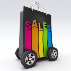 Sales on wheels