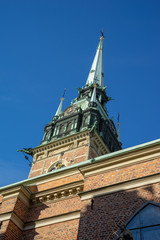 big church in Stockholm Sweden