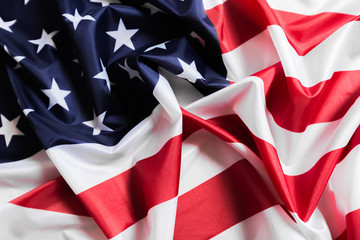 American flag waving background. Independence Day, Memorial Day, Labor Day - Image.