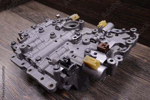 Automatic transmission valve body
