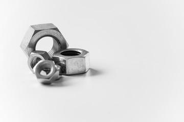 metal nuts for handcraft illustrations