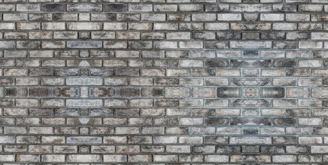 Background of brick wall with old texture pattern.