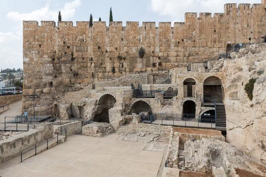 At The Davidson Center in Jerusalem