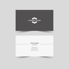 Stylish, blank business card template