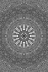 Acrylic Prints Ornamental gray background. Vintage decorative elements. Round Ornament Pattern. Vintage decorative elements. Islam, Arabic, Indian, ottoman motifs. Geometric design. Arabesque wallpaper