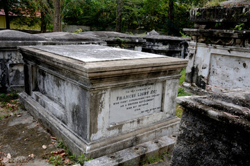Protestant cemetery, Georgetown, Malaysia