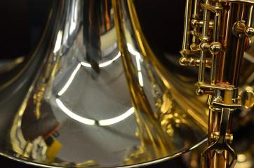 Nahaufnahme eines Musikinstrumentes