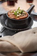 Vegetarian traditional Ethiopian food