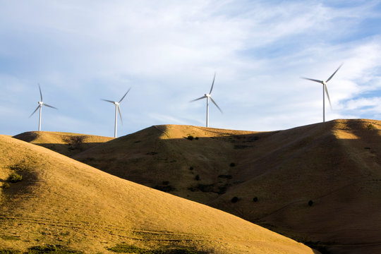 Wind Turbines, Palouse, Washington
