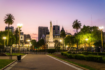 Plaza de Mayo, May Square, Buenos Aires, Argentina